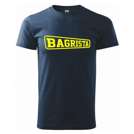 Bagrista - rámeček - Triko Basic Extra velké