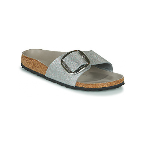 Birkenstock MADRID BIG BUCKLE Stříbrná