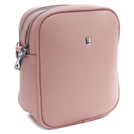 Růžová trendy crossbody dámská kabelka Madie Mahel