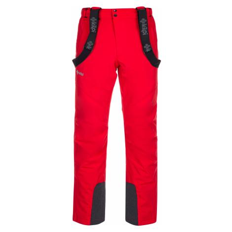 KILPI Pánské lyžařské kalhoty - větší velikosti MIMAS-M LMX033KIRED Červená