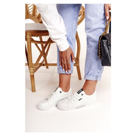 Women's Leather Sneakers BIG STAR EE274316 White Kesi