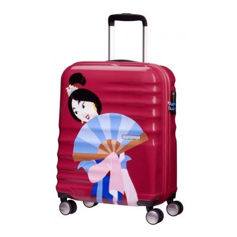 AT Dětský kufr Wavebreaker Disney Princess Spinner 55/20 Cabin Mulan - chybí foto, 40 x 20 x 55  American Tourister
