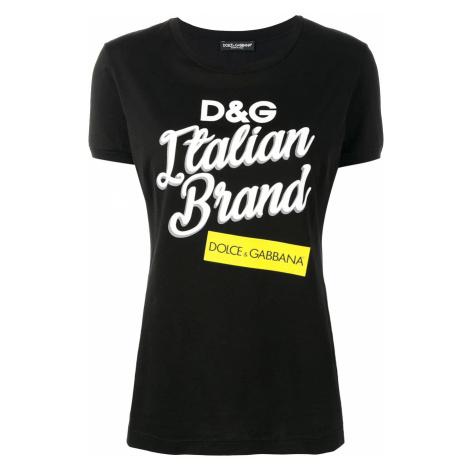 DOLCE & GABBANA Logo dámské tričko