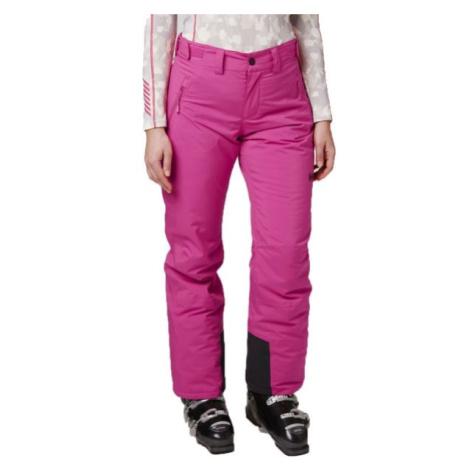Helly Hansen SNOWSTAR PANT W růžová - Dámské lyžařské kalhoty