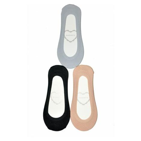 Dámské ponožky baleríny Magnetis 016 Dírky