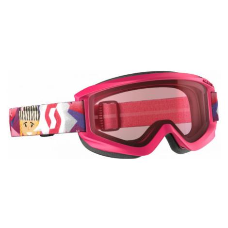Scott JR AGENT AMPLIFIER růžová - Dětské lyžařské brýle