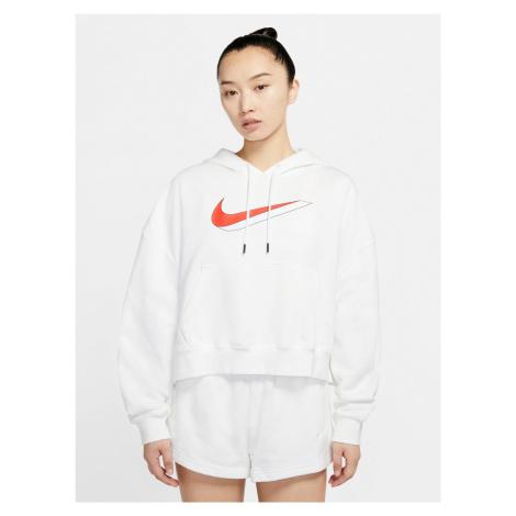 Sportswear Icon Clash Fleece Mikina Nike Bílá