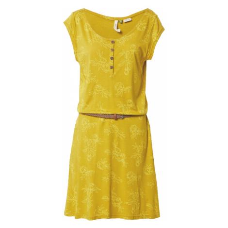 Ragwear Letní šaty 'ZEPHIE' medová / žlutá