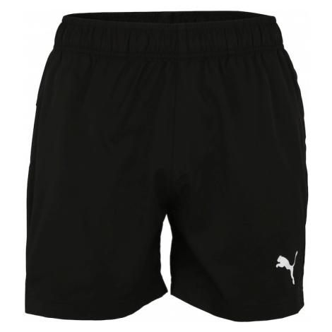 PUMA Sportovní kalhoty 'Active' bílá / černá