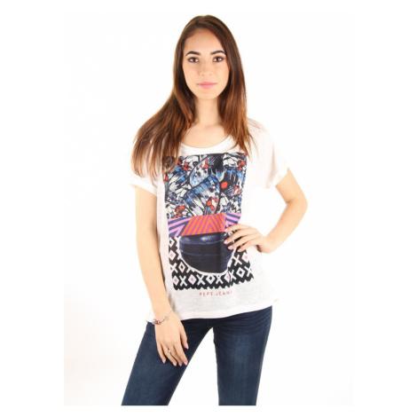Pepe Jeans damské bílé tričko Natalia