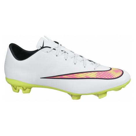 Kopačky Nike Mercurial Veloce II FG, white/volt hyper pink/black