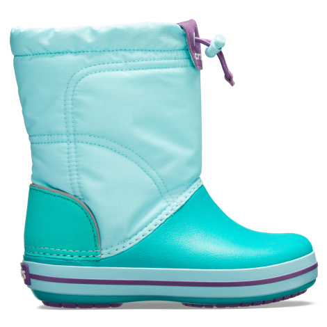 Crocs Crocband LodgePoint Boot K - Ice Blue/Tropical Teal C6