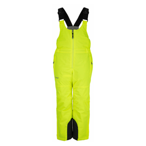 Dětské zimní lyžařské kalhoty KILPI MIA-JG žlutá
