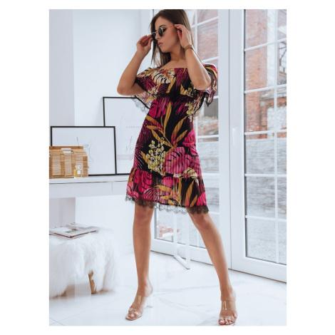 Spanish dress LOSA black Dstreet EY1526