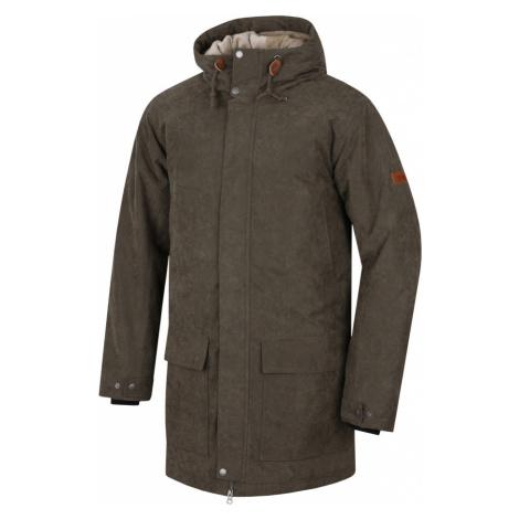 HANNAH Jesper Pánský kabát 217HH0029HJ01 Ivy green