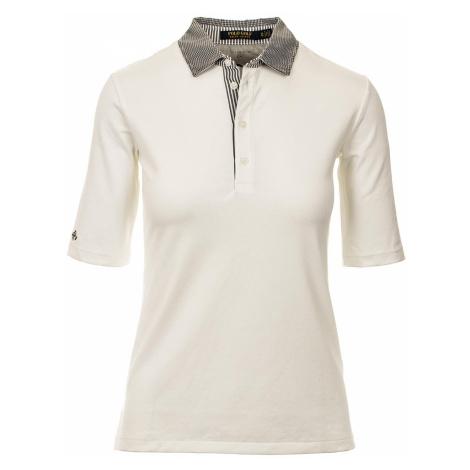 Ralph Lauren polo Golf dámské tričko krémově bílé s černou