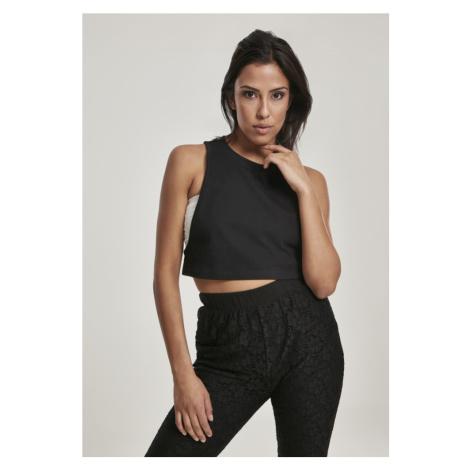 Ladies Short Loose Tank Top - black Urban Classics