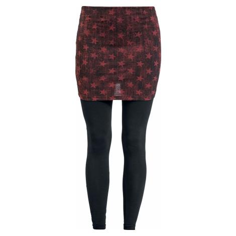 RED by EMP 2 v 1: leginy a sukně Leginy černá