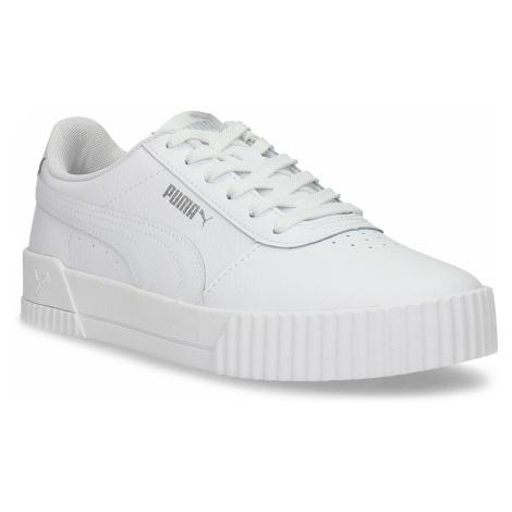 Bílé dámské ležérní tenisky s prošíváním Puma