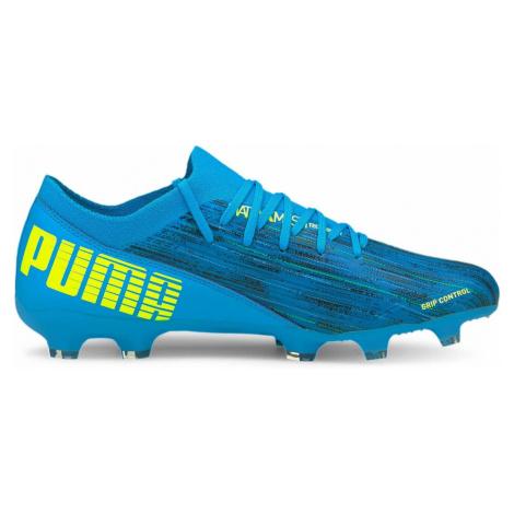 Kopačky Puma Ultra 3.2 FG/AG Modrá / Žlutá
