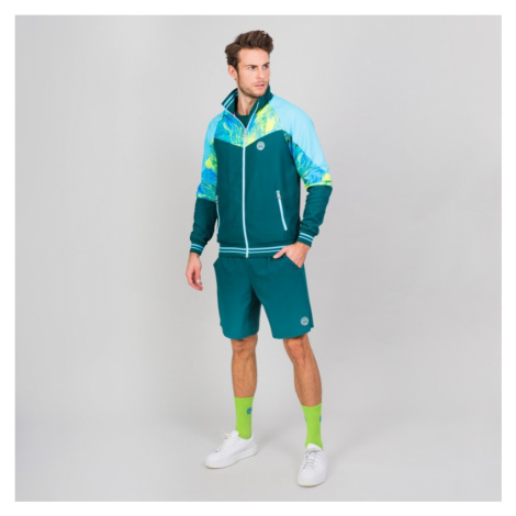Pánská bunda BIDI BADU Jabu Tech Jacket Neon Green,
