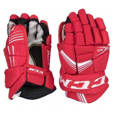 CCM TACKS 5092 JR červená - Dětské hokejové rukavice