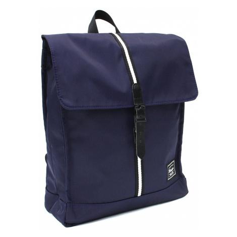 Tmavě modrý městský prostorný pánský batoh Wymond New Berry