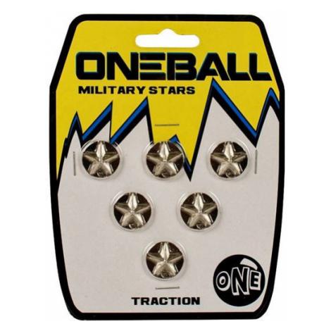 ONE BALL JAY MILITARY STARS METAL 3/4x6p - šedá