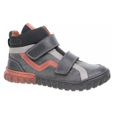 Chlapecká kotníková obuv Primigi 6121000 nero-nero
