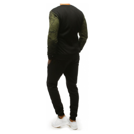 Green and black men's tracksuit AX0139 DStreet