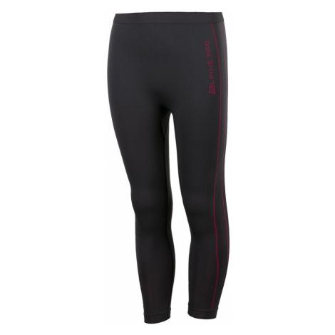Dětské spodní kalhoty Alpine Pro BONALDO - černo-růžová