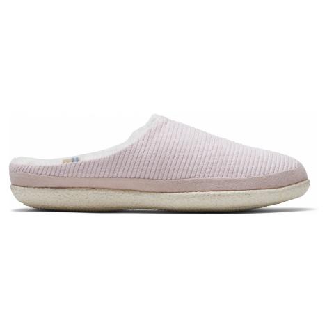 Ballet Pink Corduroy Women Ivy Slipper 10/ Toms