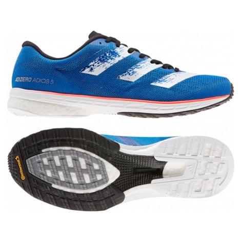 Pánské běžecké boty adidas Adizero Adios 5 modré