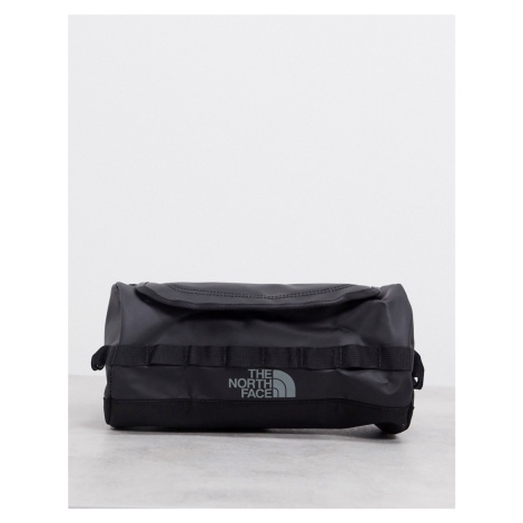 The North Face Base Camp travel canister large wash bag in black