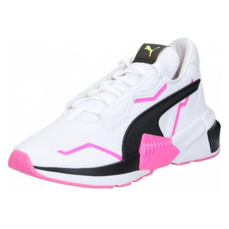 PUMA Sportovní boty bílá / pink / černá