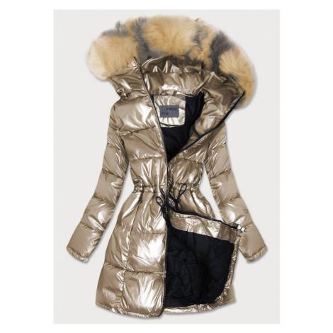 Dámská metalická zimní bunda B9528 - S.WEST Gemini