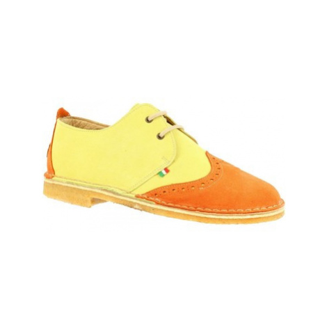 Leonardo Shoes 190 ARANCIO GIALLO Žlutá