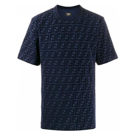 FENDI Cobalto pánské tričko