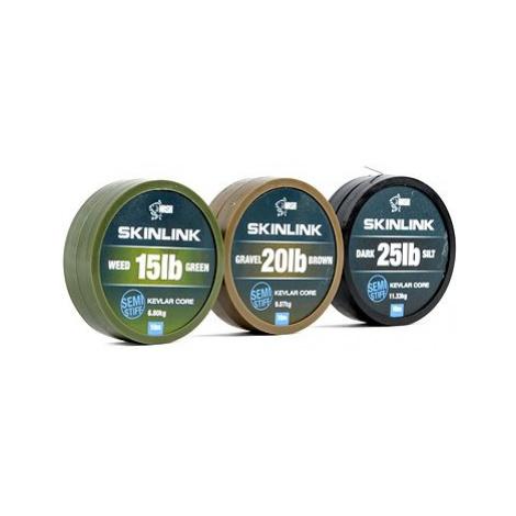 Nash SkinLink Semi-Stiff 35lb 10m Weed Green