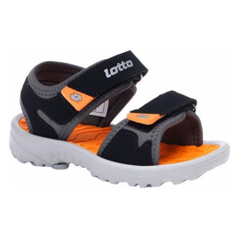 Lotto LAS ROCHAS IV INF černá - Dětské sandály