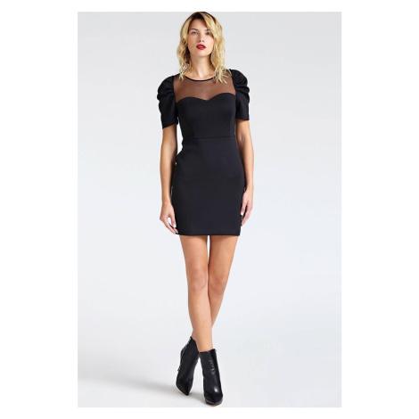 Guess dámské černé elegantní šaty