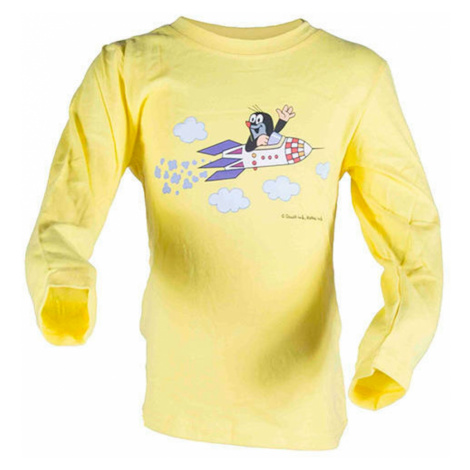 tričko dívčí KRTEK ROCKET, Pidilidi, 2018, žlutá