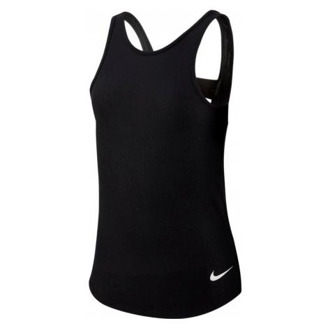 Dívčí tílko Nike Studio Soft Tank černé,
