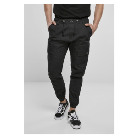 Ray Vintage Trousers - black Urban Classics
