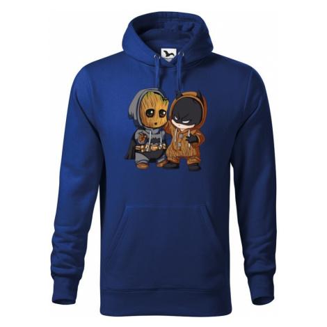 Pánska mikina Batman a Groot - ideální pro každého fanouška BezvaTriko