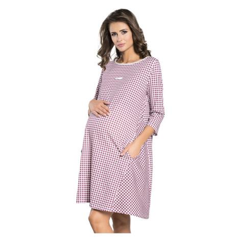 Těhotenská noční košile Venta s kapsami Italian Fashion