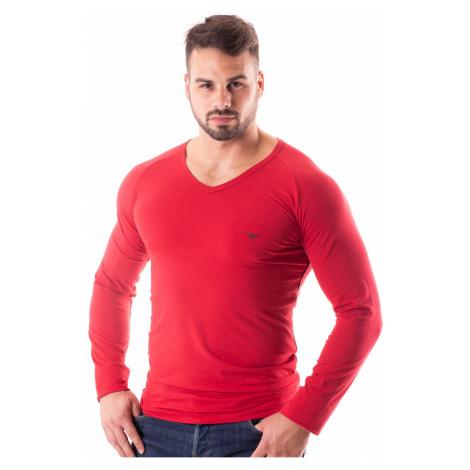 Pánské tričko Emporio Armani 111742 8A523 Červená