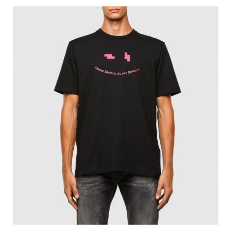 Tričko Diesel T-Just-N43 T-Shirt - Černá