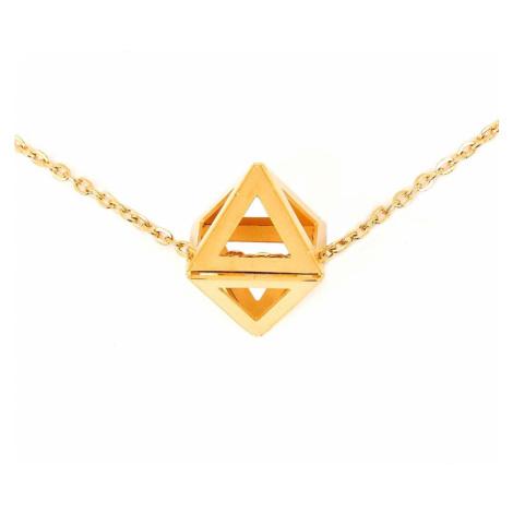 VUCH Náhrdelník Triangle Gold