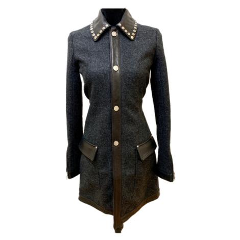 Šedočerný zimní kabát z limitované edice DIESEL Blackgold